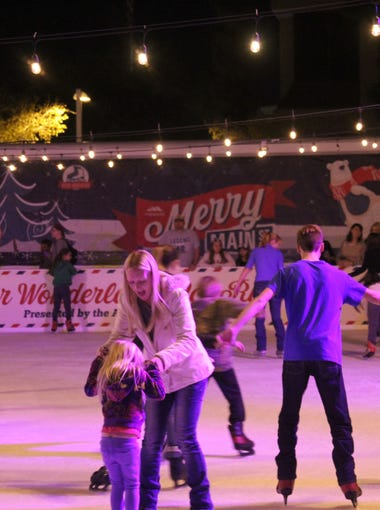 Merry Main Street, a spectacular celebration of the holiday season, will be held in downtown Mesa from Nov. 24 through Jan. 5. The festivities open Nov. 24 with an evening of family fun for everyone.