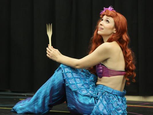 October 10, 2015. Puppets, Children's Theatre, Frisch, Disney, Little Mermaid, Liz Dufour