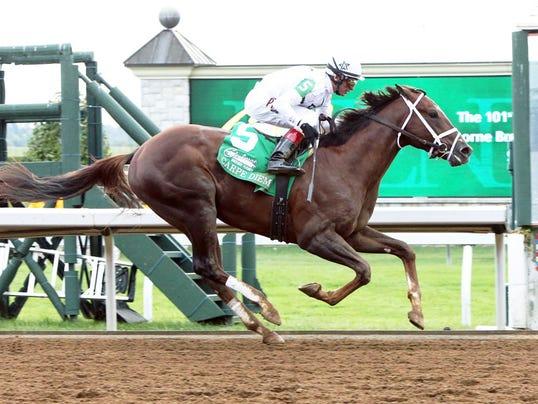 Carpe Diem peut remporter le Kentucky Derby Carpediem.claibornebreedersfuturity
