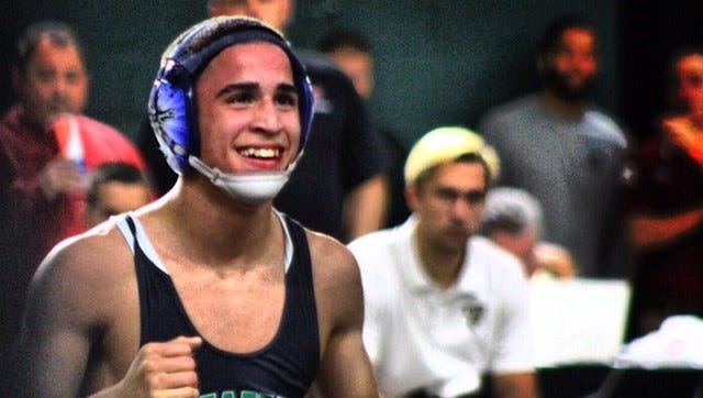 Fort Myers High 126-pound wrestling Chris Rivera is chasing his second state title this weekend at the FHSAA State Wrestling Championships in Kissimmee.