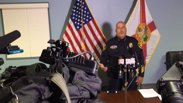 Cocoa Police Chief Mike Cantaloupe discusses charges against a group of teens accused of mocking and filming a man who was drowning in a pond.