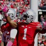 Ohio State wide receiver Braxton Miller