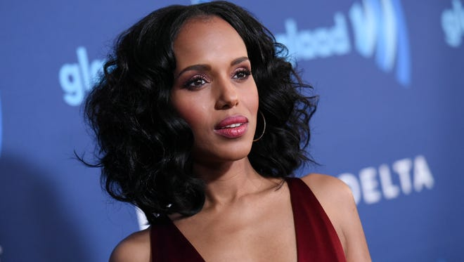 Kerry Washington at GLAAD Media Awards March 21, in Beverly Hills, Calif.
