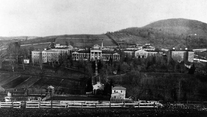 Western State Hospital as it appeared in the late 1800s.