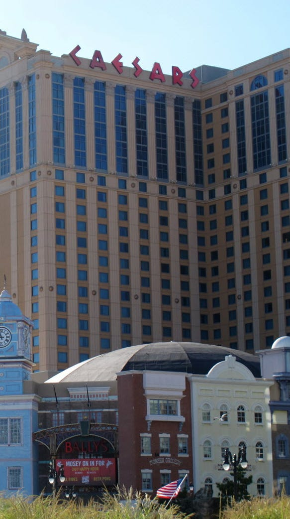 Caesars posted the biggest revenue gains among Atlantic