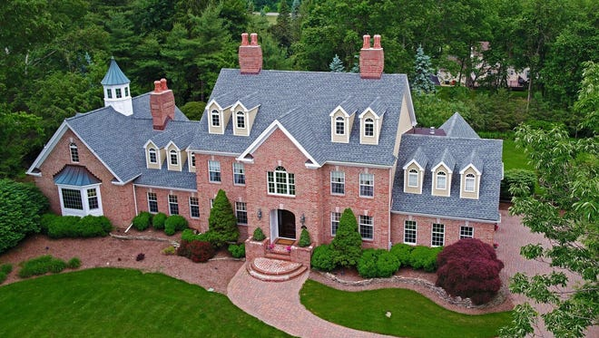 Recently renovated, this manor home at 10 Yorkshire Drive will be open 1 to 4 p.m. Sunday, Oct. 8.
