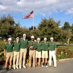 The Spackenkill High School boys golf team poses after winning the Mid-Hudson Athletic League team championship on Thursday.