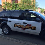 Dover police vehicle