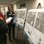 The design stage for the improvements to the Pitkin Bikeway, the nearly 4-mile bike corridor in Fort Collins, is officially underway. Here, citizens are seen learning about the concept designs at the open house on Wednesday night at the CSU University Center for the Arts.