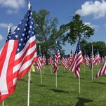 A Lebanon Marine veteran will hike to the Field of Honor flag sale in Mt. Juliet this Memorial Day to raise awareness and honor those lost in battle.