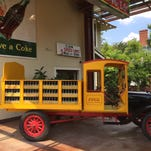 See the first truck to deliver bottled Coca-Cola at the Biedenharn Museum.