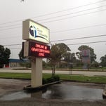 Grace Fellowship Church was vandalized Sunday.