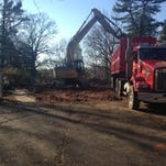 Rowan mansion is demolished in Westampton