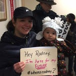 """""""Where's Rodney?""""  chants persist at congressman's Morristown office"""