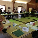 First meeting of the Minden Dialogue Committee Feb. 29 in Minden.