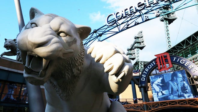 The Tigers' home opener is April 8 against the Yankees.