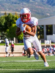 Southern Utah wide receiver Isaiah Diego-Williams (15)
