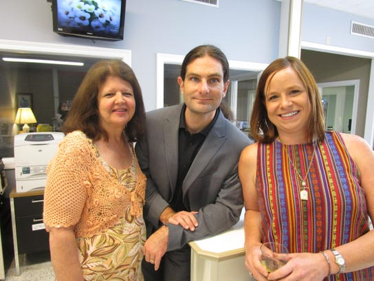Linda Thomas, Owen Rachal and Kathryn Capell