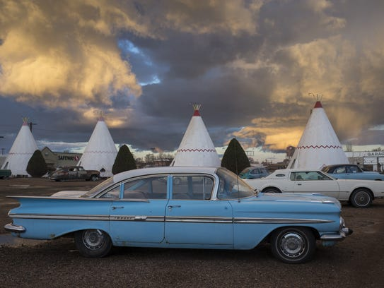 The Wigwam Village #6 opened in Holbrook in 1950 as