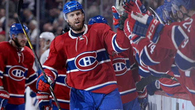 Former Predators captain Shea Weber has 10 points in nine games for the Canadiens.