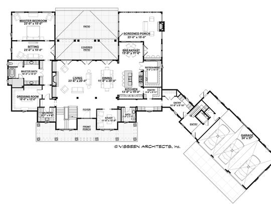 Need more space? You can finish the lower level and