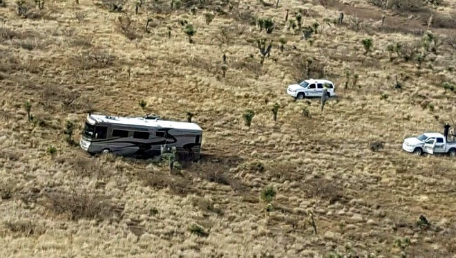 Luna County Sheriff's Office investigators located this stolen recreational vehicle and apprehended a suspect out of Washington State who was wanted by corrections in the Pacific northwest as an escaped fugitive.
