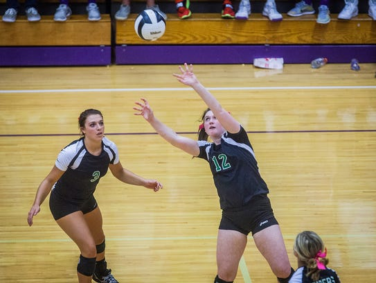Yorktown faces off against Central during their game