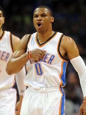 Russell Westbrook and the Thunder need a win and a Pelicans loss to claim the final playoff spot in the West.