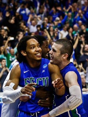 Florida Gulf Coast University is the only 15 seed to reach the NCAA tournament. The Eagles did so in 2013. Last season, the University of Maryland, Baltimore County became the first-ever 16 seed to knock off a stop seed. The teams will meet at UMBC next season and at FGCU during 2018-19.