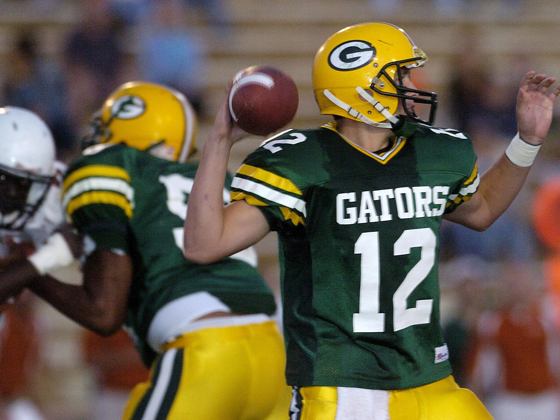 Captain Shreve's Marc Kimball prepares to throw the ball during Thursday's game against Northwood at Lee Hedges Stadium in Shreveport.Val Horvath/The Times 092806