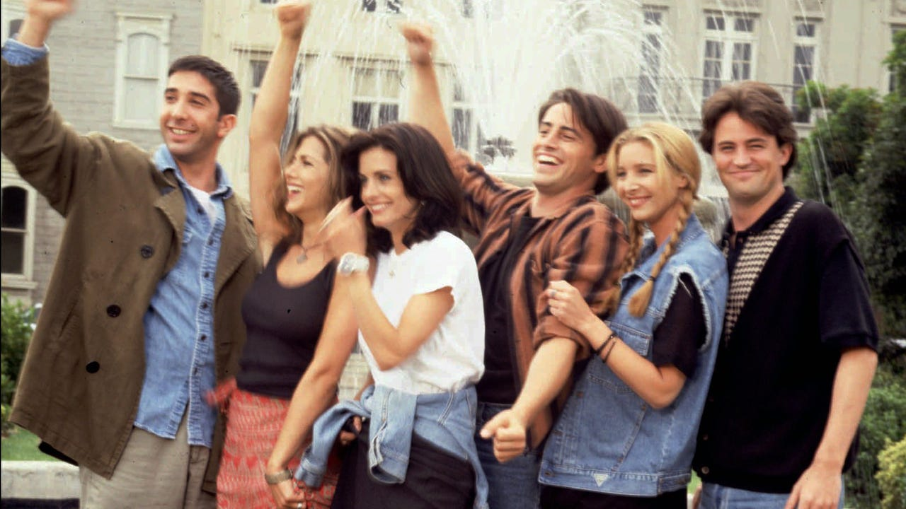 'Friends' is still there for you on Netflix