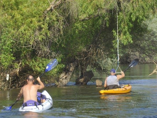 Portions of the Kings River will be open for boating