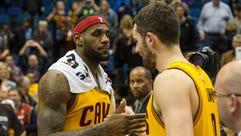 Jan 31, 2015; Minneapolis, MN, USA; Cleveland Cavaliers