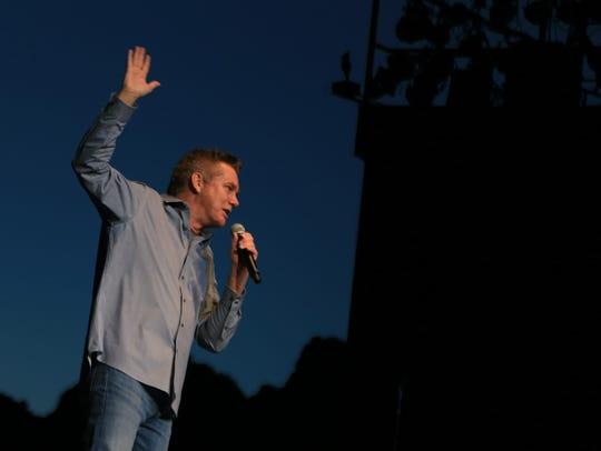 Comedian Brian Regan takes the stage May 4 at Tuacahn