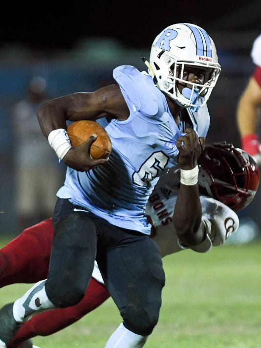 High School Football: Cardinal Gibbons at Rockledge