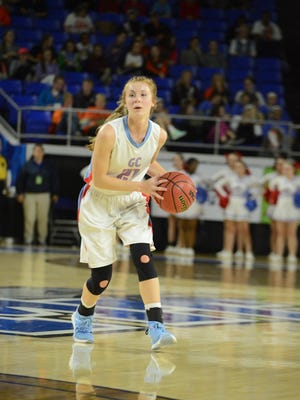 The Lady Pioneers of Gibson County High School took on the Eaglettes of Van Buren County High School, Thursday, March 10, 2016 in the quarter finals of the Class A  Girls' Basketball Tournament. Gibson County defeated Van Buren, 70-66.