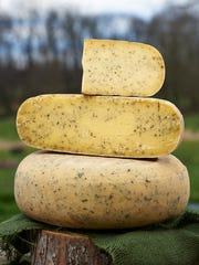 The Nettle Cheese is one of the farm's best sellers.