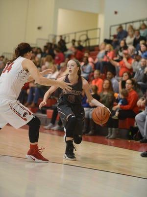 Lexington High School hosted Crockett County High School in girls basketball, Tuesday, November 29, 2016. Lexington fell to Crockett, 43-40.