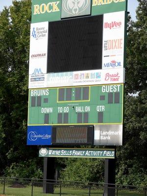 Wayne Sells Field at Rock Bridge High School.