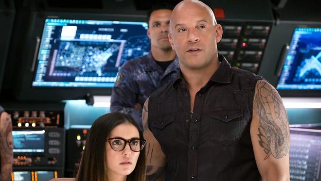 """Nina Dobrev and Vin Diesel stars in """"xXx: Return of Xander Cage."""""""