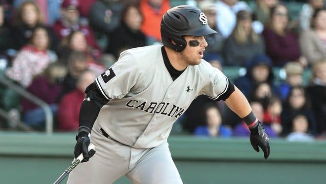 The University of South Carolina baseball team has been selected to play in the NCAA baseball tournament regional at East Carolina University.