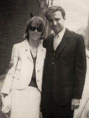 Seward and Cecelia Johnson in Cambridge, Massachusetts, in 1966.