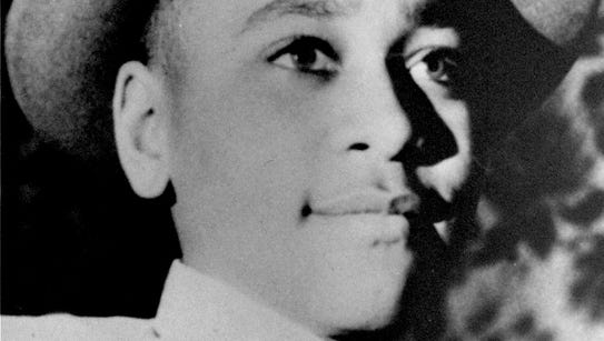 Emmett Till, a black, 14-year-old teenager from Chicago,