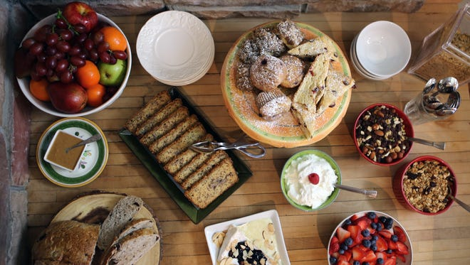 Enjoy a three-course complimentary breakfast at the Inn at Laurita Winery.