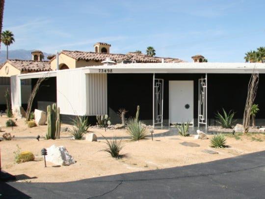 The Boyd's Palm Desert Residence.