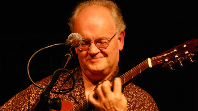 George Sawyn brings his wide variety of guitar stylings to Lost moth Gallery in Egg Harbor for a Jan. 20 concert.