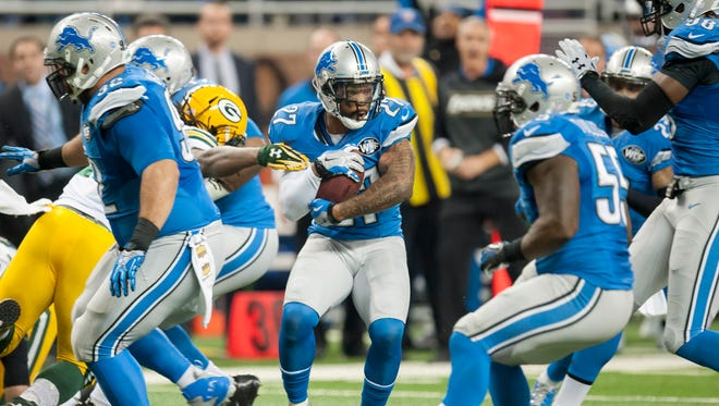 Lions safety Glover Quin has been fined for hitting a defenseless receiver in Sunday's game against the L.A. Rams.