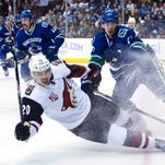 Canucks hand Coyotes 2nd consecutive overtime loss