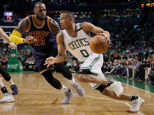 Avery Bradley, LeBron James