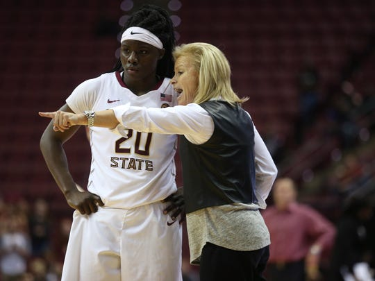 Florida State senior forward Shakayla Thomas credits much of her success to Seminoles head coach Sue Semrau.